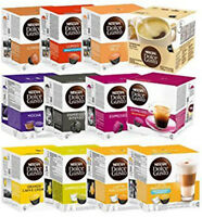 Nescafe Dolce Gusto Coffee Capsules -Different Flavors 50 Capsules FREE SHIPPING