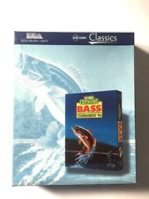 Outdoors Bass Tournament 96 Caja Grande 1996 PC Completo Videojuego Mint St