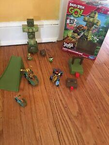 Angry Birds GO!  Jenga Rovio Hasbro Kids