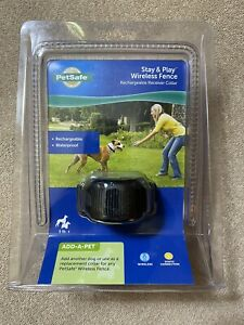 PetSafe PIF00-14288 Stay & Play Wireless Collar for Dogs *New Sealed* N