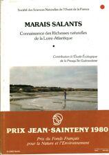 Livre marais salants connaissance des richesses naturelles  book