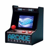 Arcade Classics Desktop Arcade Game Machine - 200 Built in Games