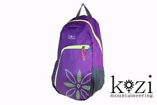 KOZI Mountaineering Mountain Purse Self Storing Folding Hiking Backpack COVID