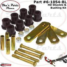Prothane 6-1054-BL Rear HD Spring Shackles&Shackle Bushing Kit 64-73 Mustang