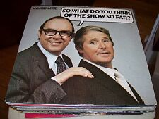 MORECAMBE AND WISE SO,WHAT DO YOU THINK OF THE SHOW SO FAR-LP-VG+-BBC-BRITISH