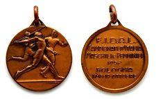 Medaglia F.I.D.A.L. Campionati D'Italia Maschili E Femminili 1952 Bologna
