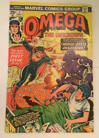 Omega The Unknown #1 VF+ condition MVS intact Huge auction going on now!