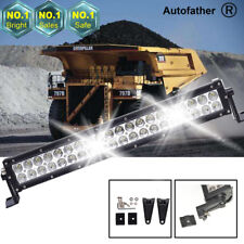 For Car Truck Tractor Excavator Mining 21''120W 12V LED Light Bar Spot Work Lamp