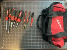 Lot Of 7 Milwaukee Hand Tools With Bag