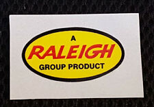 "RALEIGH GROUP PRODUCT""   retro/ vintage self adhesive  Sticker/Decal"