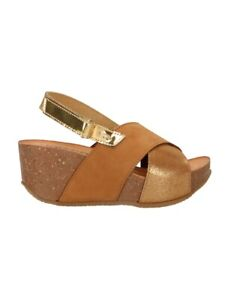 IGI&CO 7186211 Sandale mit Keilabsatz Frau Leder