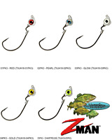 Z-MAN Jigheads Texas Eye Swinging Swim Bait Style 1/8oz (TXJH18) Any 5 Colors