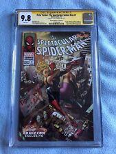 Peter Parker: The Spectacular Spider-Man #1 CGC SS 9.8 J Scott Campbell CVR D
