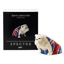 Royal Doulton James Bond 007 Spectre Jack Bulldog Figurine MIB & Certificate 2
