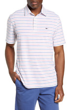 Vineyard Vines Mens Shippan Stripe Sankaty Performance Golf Polo Men Sz 2xl