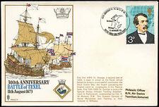 GB 1973 Battaglia di Texel bfps, rnsc11 Coperchio #C 22492