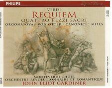 CD  JOHN ELIOT GARDINERVerdi Requeim Quattro pezzi sacriPHILIPS 2CD    (B4190)