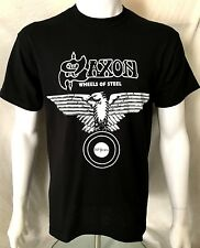 More details for saxon - wheels of steel - 20 years anniversary t-shirt(m)og 2000 new genuine