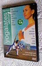 YOGA ZONE: SOLOMON ULTIMATE YOGALETS (DVD) R-ALL, LIKE NEW, FREE POST AUS-WIDE