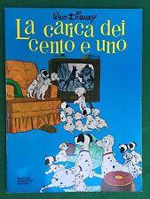 Walt DISNEY - LA CARICA DEI CENTO E UNO 101 Albi d'oro (1979) Libro ill.Film