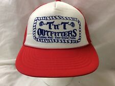 trucker hat baseball cap TNT OUTFITTERS EGF retro vintage cool rare rave nice