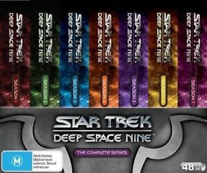 Star Trek: Deep Space Nine 9 Complete DVD Box Set 48 Discs New  R4