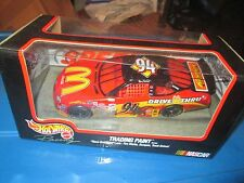 #94 Bill Elliott race damaged trading paint Raced hot wheels 1/24 ford tauras