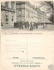 CPA Paris Vécu Champs-Elysées, Les Promeneurs (f2231)