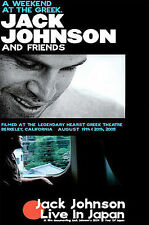 Jack Johnson - Weekend at the Greek/Live in Japan (DVD, 2005, 2-Disc Set)