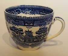 """Alfred Meakin Old Willow Design Cup Blue & White  Diameter 3.5"""" 8.5cm"""
