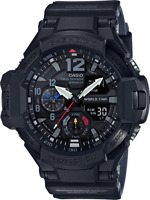 Casio G-Shock Men's Quartz World Time Black Resin Band 51mm Watch GA1100-1A1