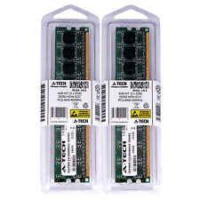 4GB 2 x 2GB DDR2 Desktop Modules 6400 Low Density 240 pin 240-pin Memory Ram Lot