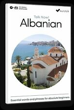 Eurotalk Talk Now Albanian for Beginners - Download option and CD ROM