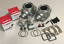 Banshee YFZ 350 RAW 66 mm Big Bore Cylinders Top End Rebuild Kit Wiseco Pistons
