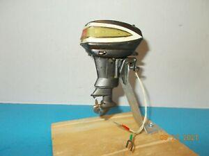 Vtg Toy Model Outboard Evinrude Boat Motor
