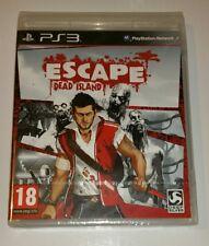 ESCAPE FROM DEAD ISLAND PS3 Nuevo Sellado PAL Reino Unido Sony PlayStation 3 Raro Ganga