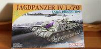DRAGON 7307  1/72 Jagdpanzer IV L/70 Early Production TANK MODEL KIT