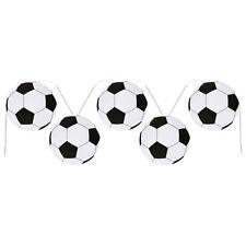 """Party Girlande """"Fußball-Party"""" 6 m Kindergeburtstag  Fußballgirlande Deko"""