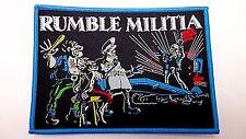 rumble militia EN NOMBRE DEL LEY   WOVEN  PATCH