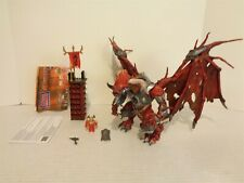 2005 Mega Bloks Dragons Metal Ages #9624 Stendhal Figure Building Set Complete