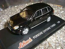 Porsche Cayenne Turbo Negro SCHUCO 1:64