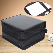 Large Capacity 520 Disc CD DVD Organizer Holder Storage Case Wallet Album Black