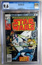 Star Wars #15 Marvel 1978 NEWSSTAND CGC 9.6 NM+ White Pages Comic Q0113