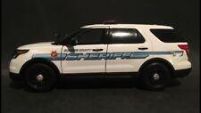 Shawnee County Sheriff, KS 1:24 Scale Ford Explorer Police SUV Replica