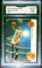 Michael Jordan 1994 SP Championship Playoff Heroes Insert Gem Mint 10 RARE Lot +