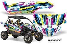 UTV Decal Graphic Kit Side By Side Wrap For Yamaha YXZ 1000R 2015-2018 FLASHBACK