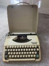More details for vintage olympia splendid 33 typewriter cream