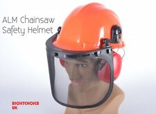 More details for alm chainsaw safety helmet ear defenders and face guard all in 1