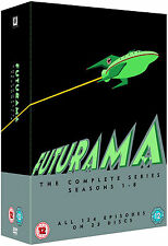 FUTURAMA Complete Season 1-8 Series 1 2 3 4 5 6 7 8 Collection Boxset NEW DVD R4