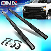 Red DNA MOTORING STEPB-ZTL-8143-RD Oval Side Nerf Bar Running Board with Dropped Steps for 18-20 Jeep Wrangler JL Unlimited 4Dr,Black